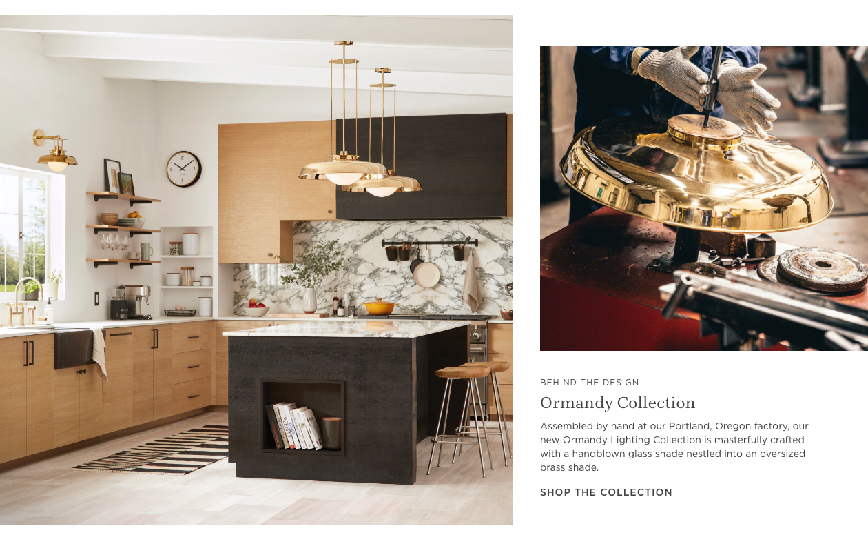 Introducing: Our Ormandy Lighting Collection