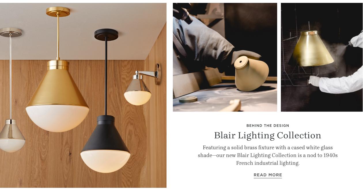 Blair Lighting Collection