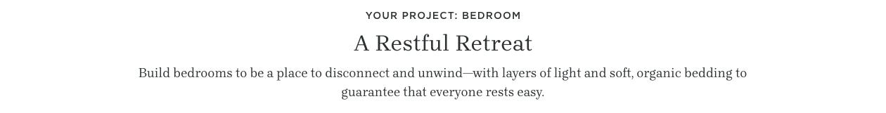 A Restful Retreat