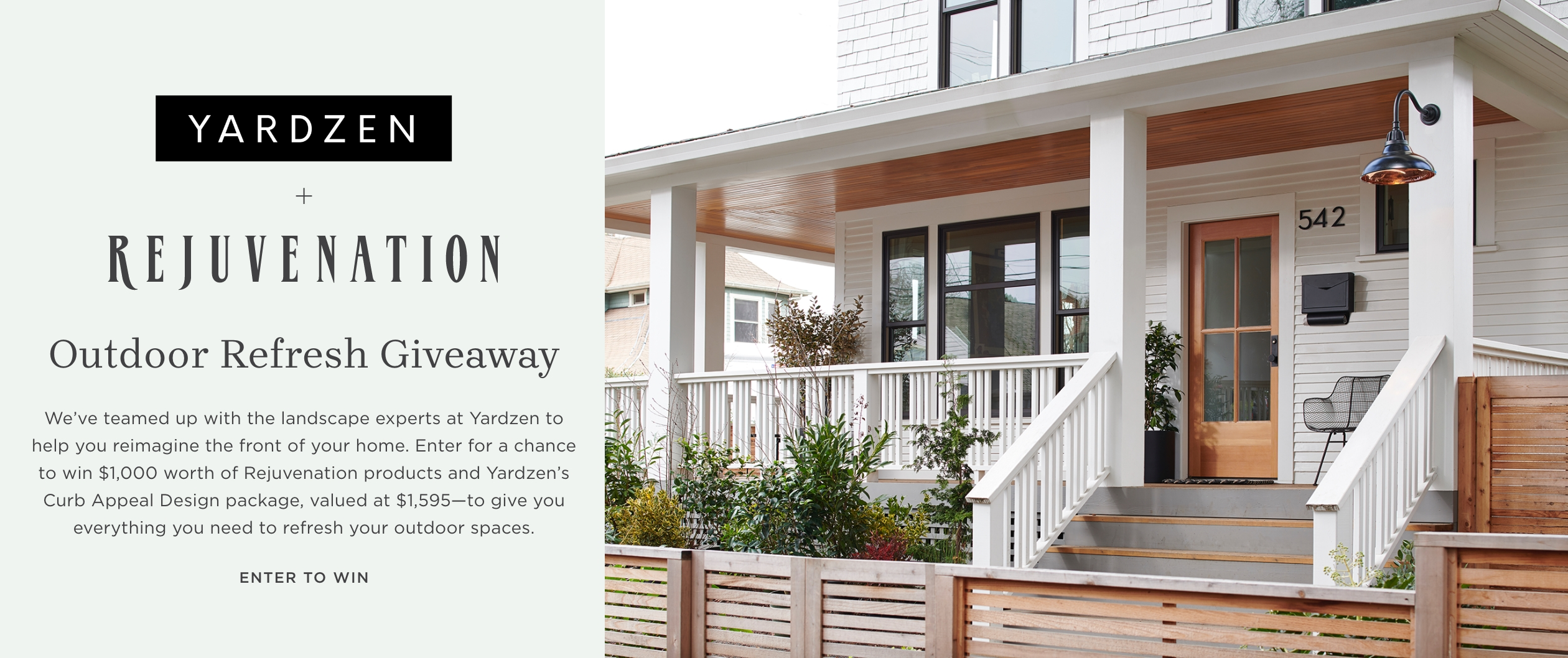 Learn More About Our Outdoor Refresh Giveaway