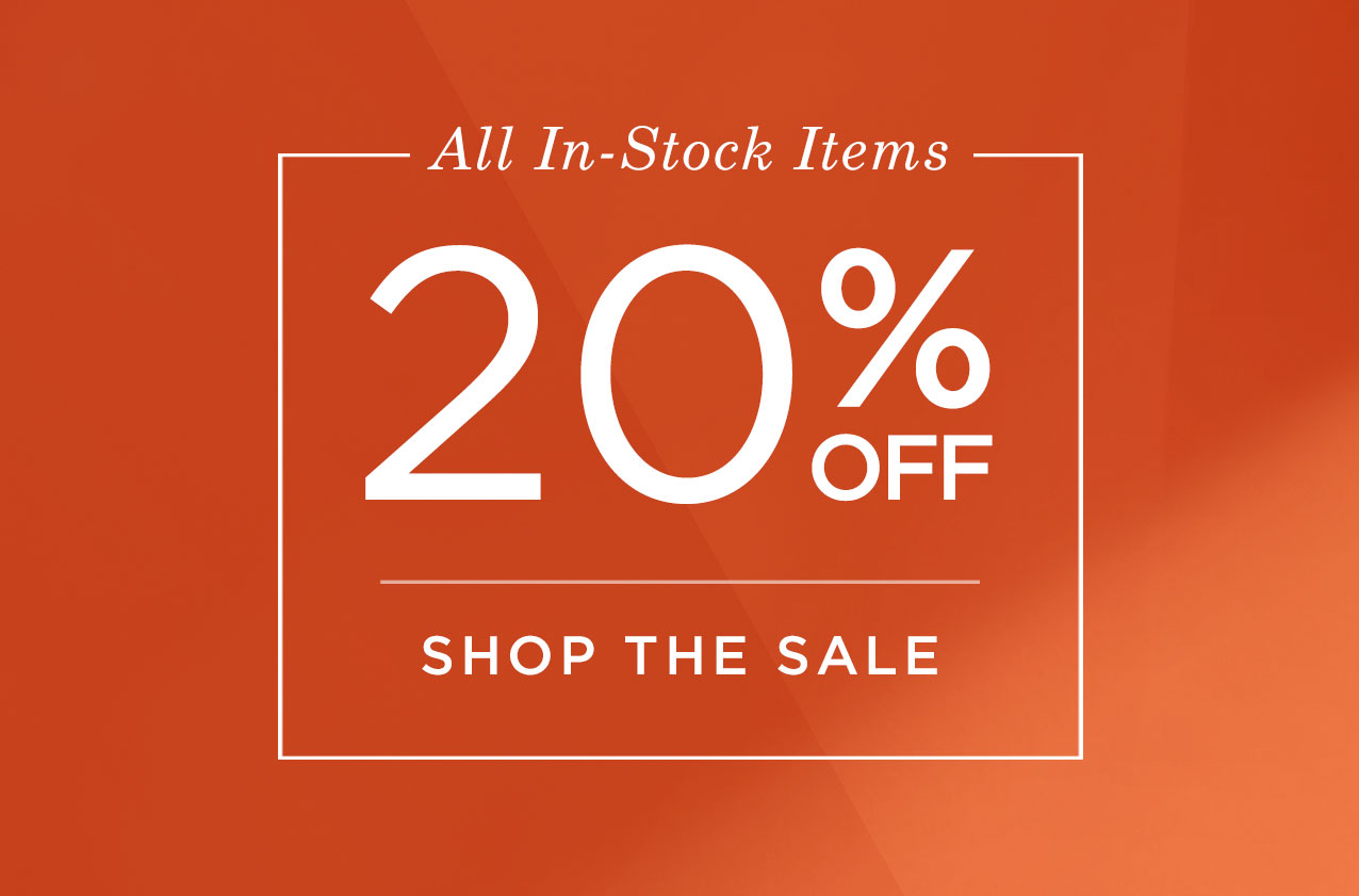 Shop the In-Stock Sale