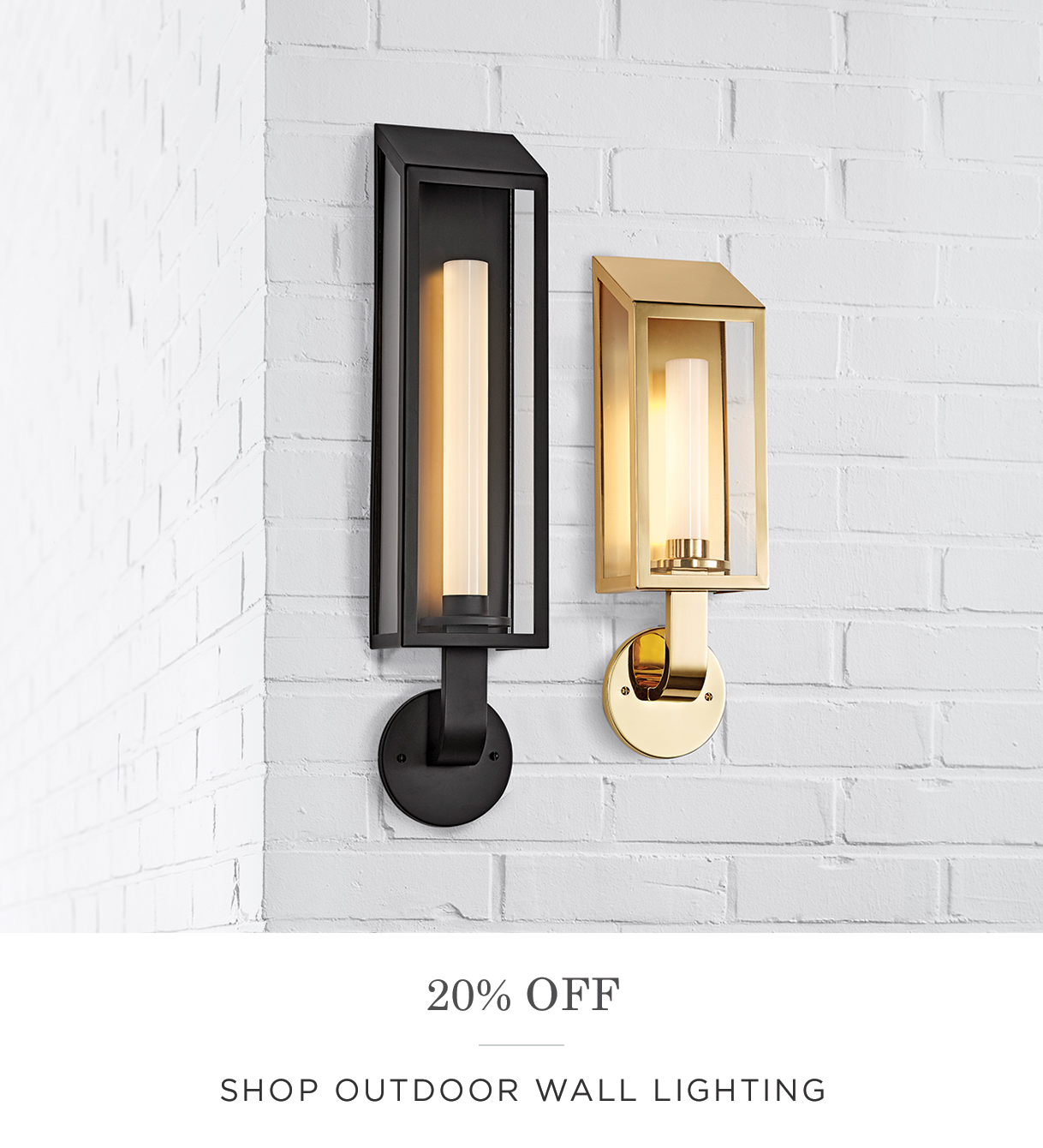 Shop Outdoor Wall Lighting