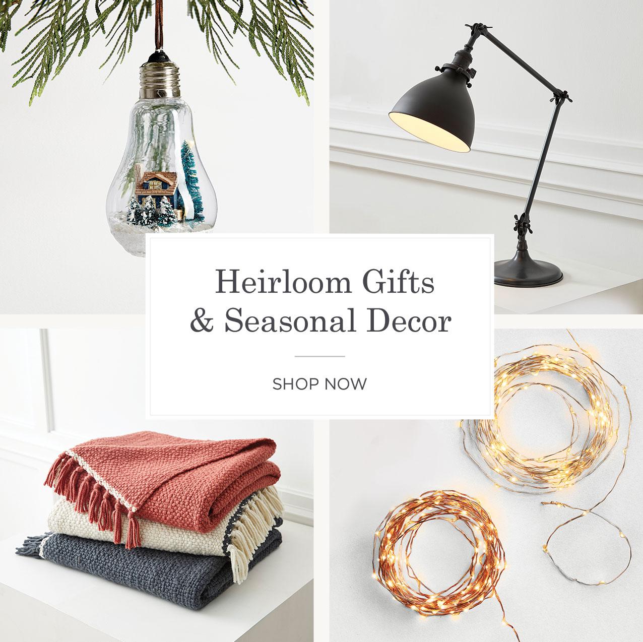 Shop Gifts Seasonal Decor