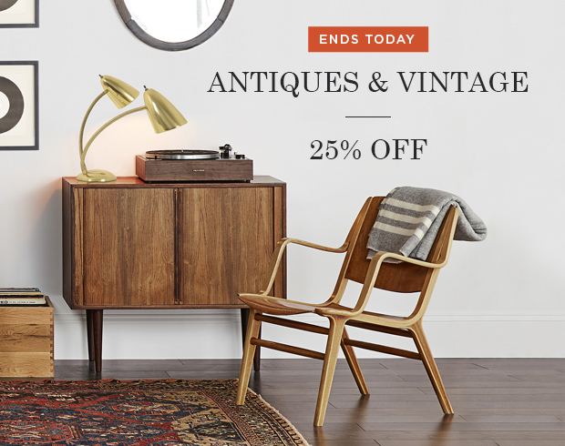 Shop the Antiques & Vintage Sale