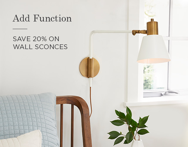 Wall Sconces - Save 20%