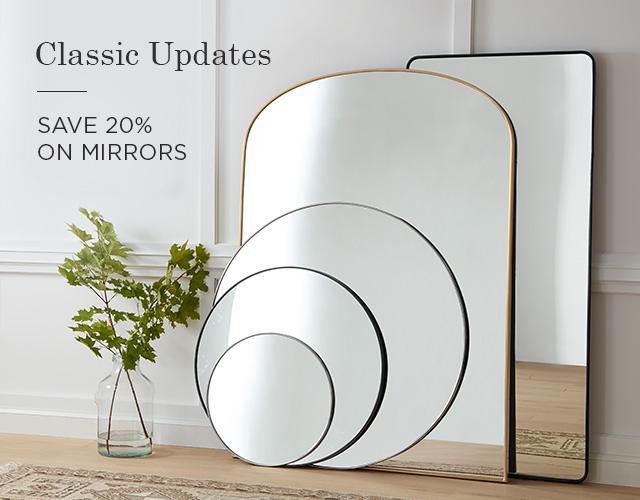 Mirrors - Save 20%