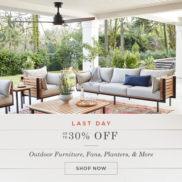 Save up to 30% off Outdoor