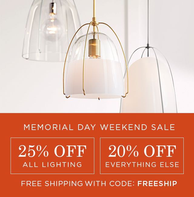 Memorial Day Weekend Sale - Shop Now