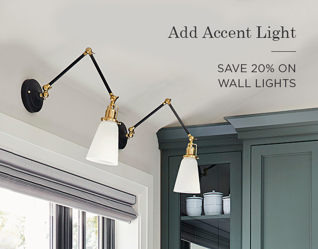 20% Off Wall Lights