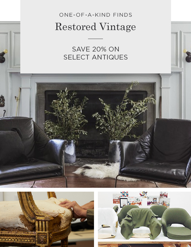 Save 20% on Select Antiques