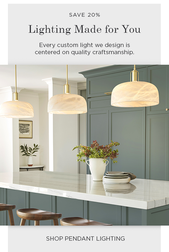 Shop Pendant Lighting