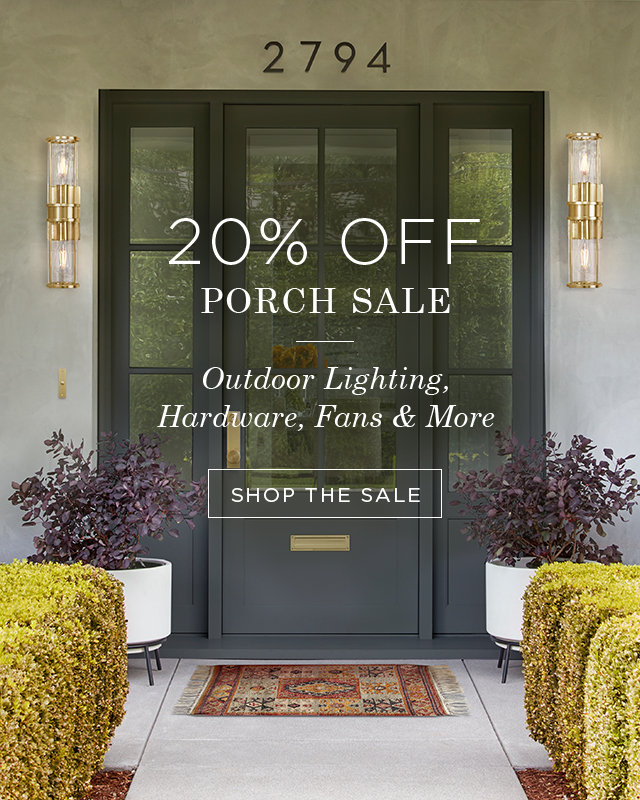Save 20% on Chandeliers, Pendants, Stools, & Dining Furniture