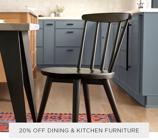 20% Off Dining & Kitchen Furniture