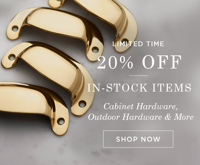 20% Off In-Stock Items