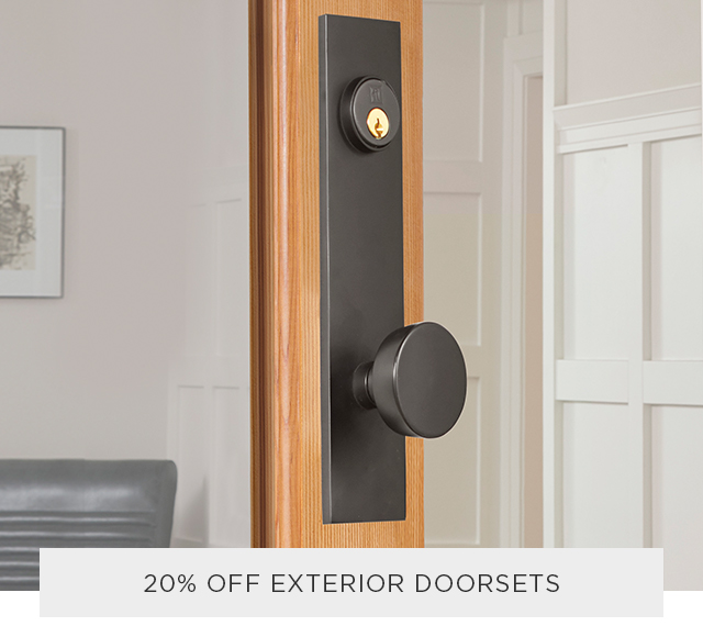 20% Off Exterior Doorsets