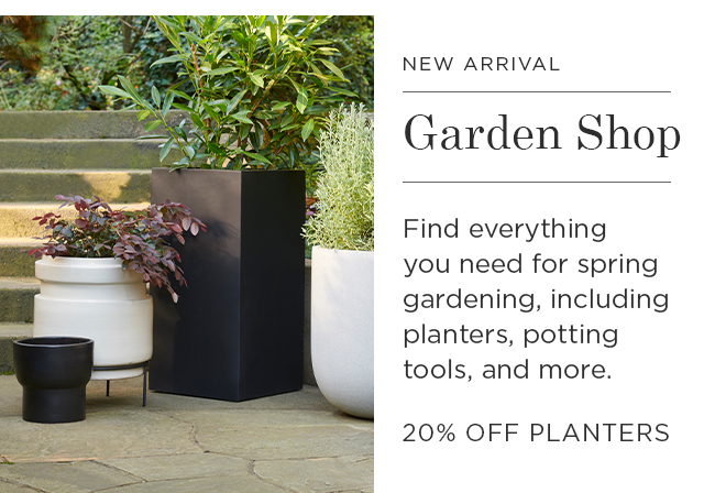 20% Off Planters