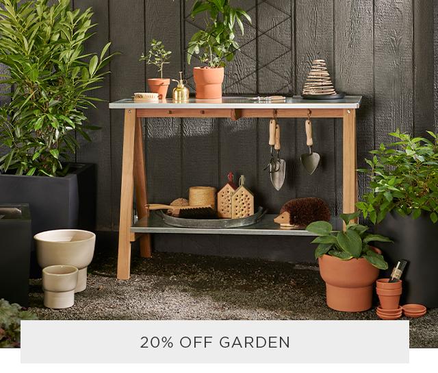 20% Off Garden