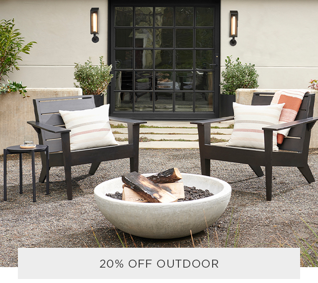 20% Off outdoor