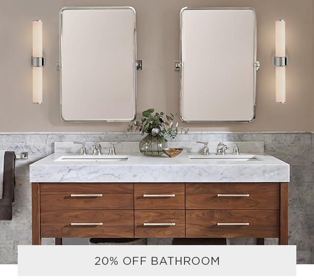 20% Off Bathroom