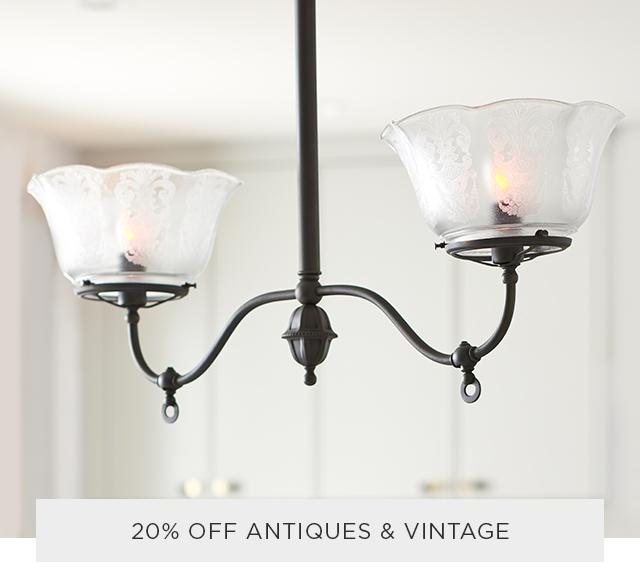 20% Off Antiques & Vintage