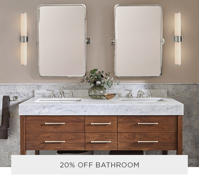 20% Off Bathroom