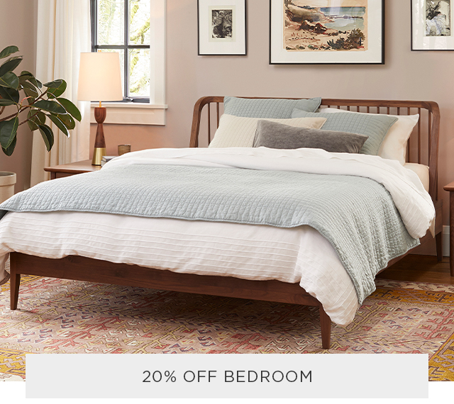 20% Off Bedroom