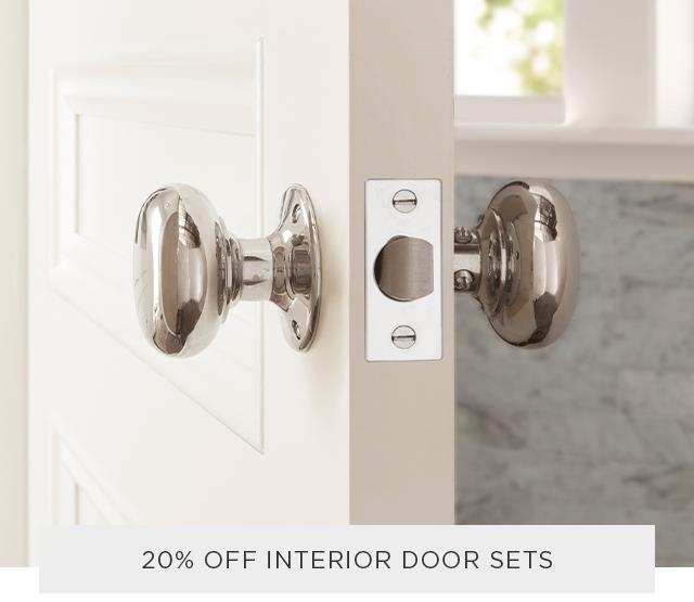 20% Off Interior Door Sets