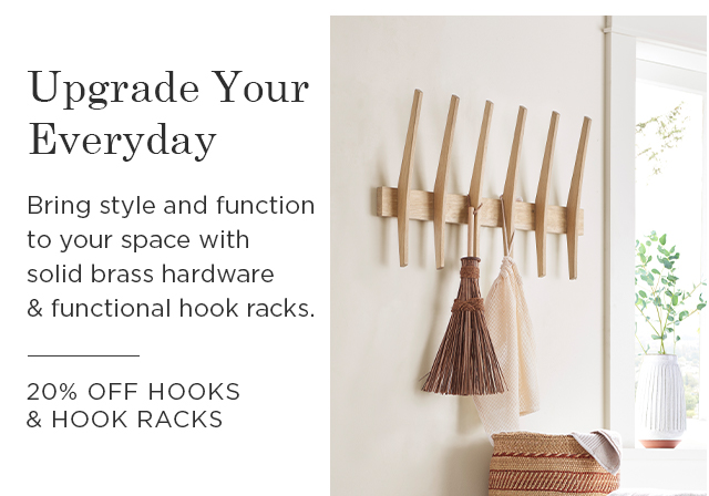 20% Off Hooks & Hook Racks