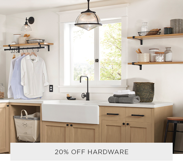 20% Off All Hardware