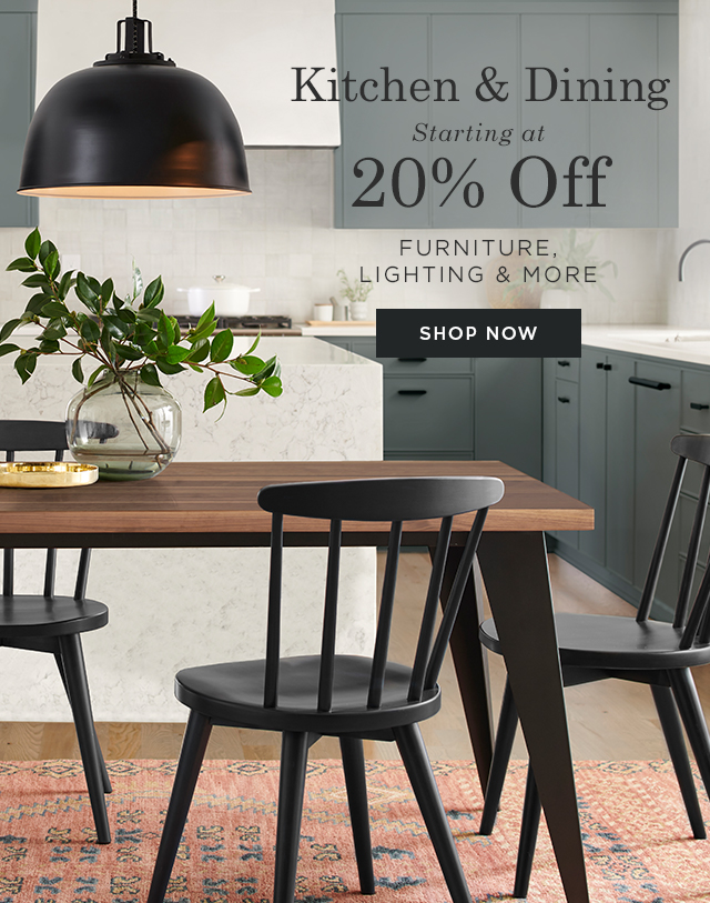 Kitchen & Dining – Starting at 20% Off