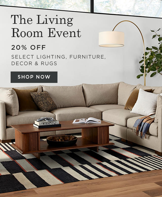 20% Off The Living Room Event