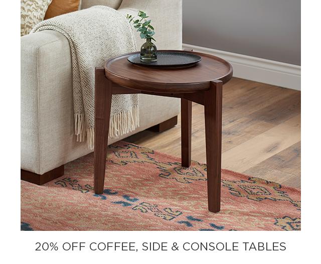 20% Off Accent Furniture