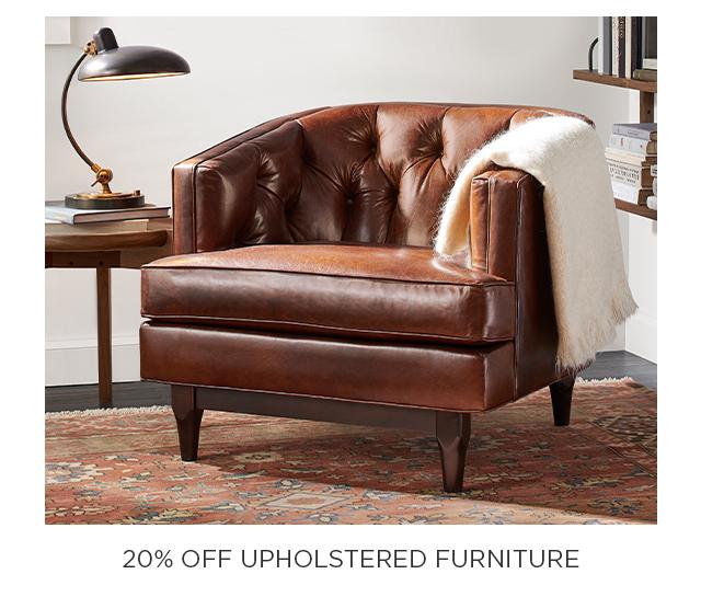 20% Off Upholstered Furniture