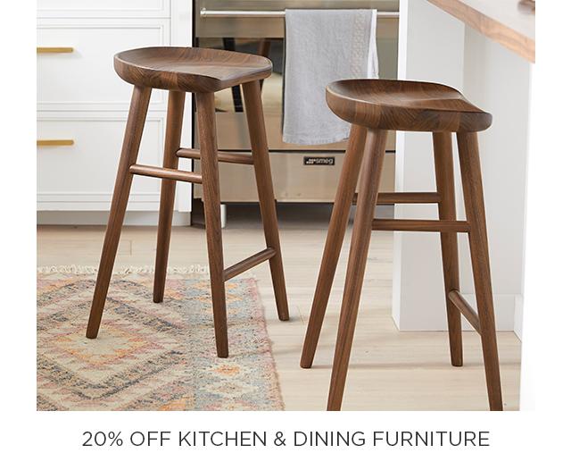 20% Off Kitchen & Dining Furniture