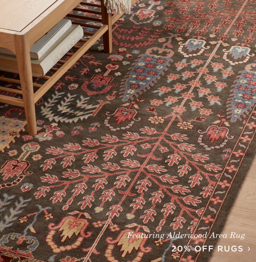 20% Off Area Rugs