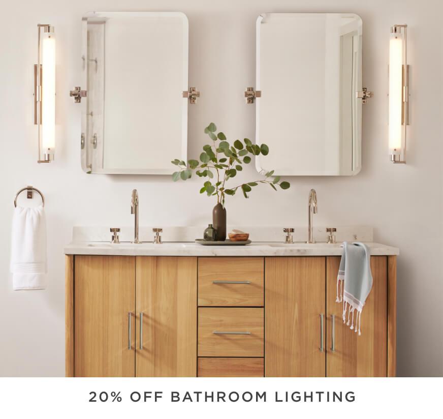 20% Off Bath Lighting