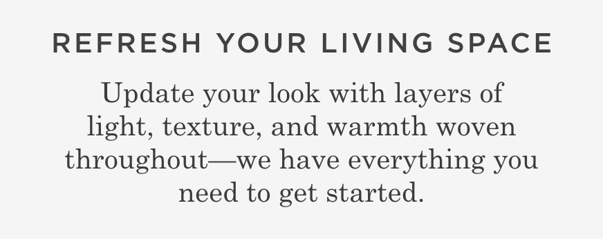 Refresh Your Living Space
