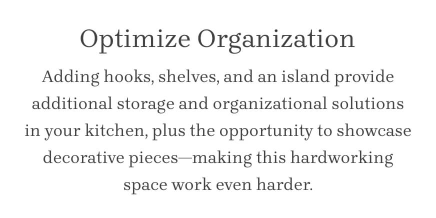 Optimize Organization