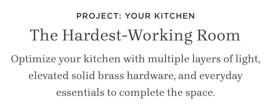 Project: Your Kitchen