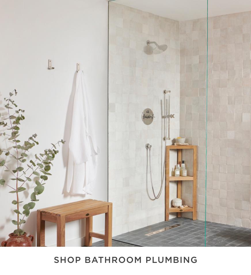 Shop Bathroom Plumbing