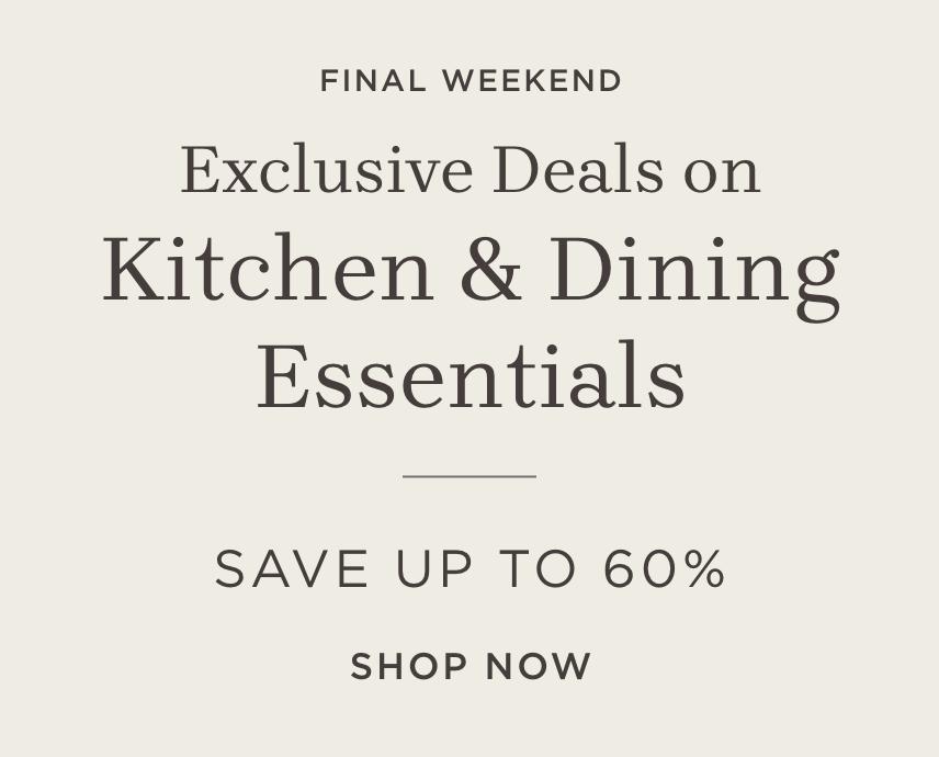 Shop Kitchen & Dining Essentials