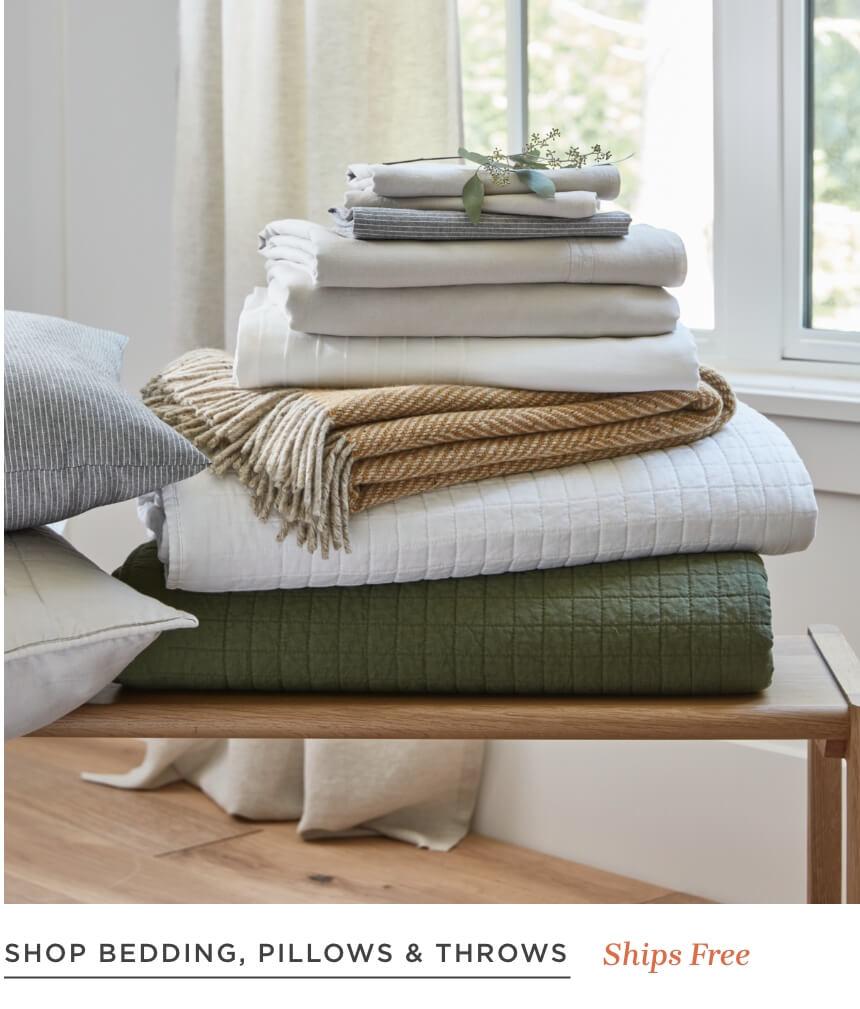 Shop Bedding, Pillows & Throws