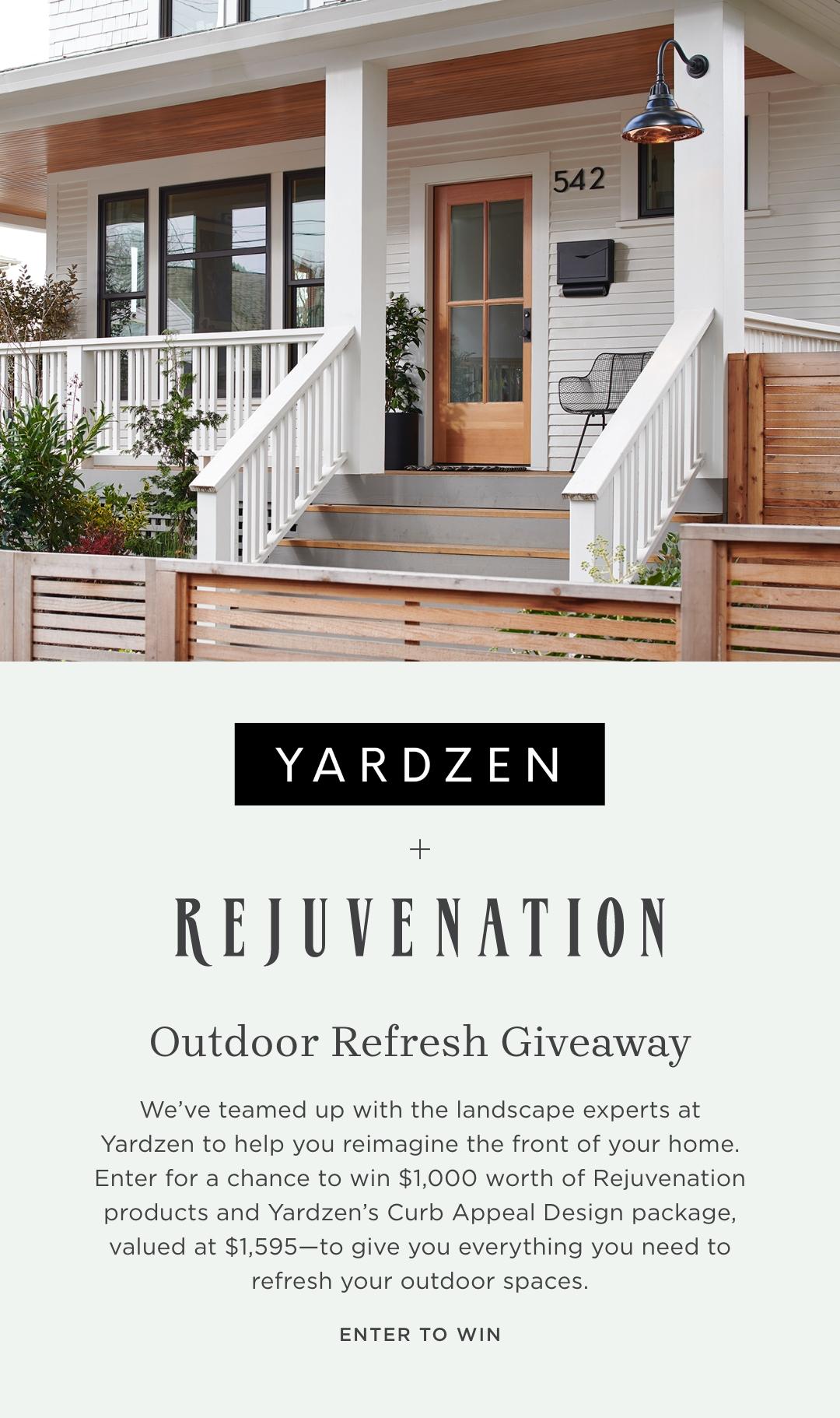 Learn More About Yardzen + Rejuvenation