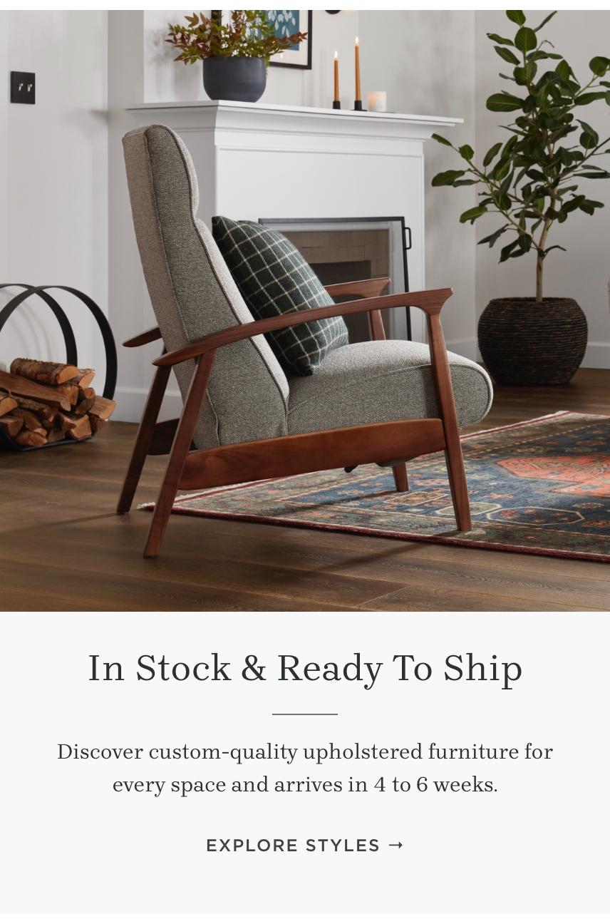 Explore Stocked Upholstery