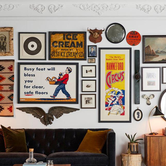 A v wall decor