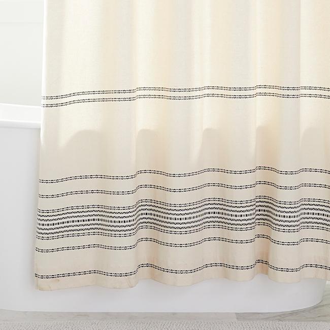 Q4 bath updates shower curtain