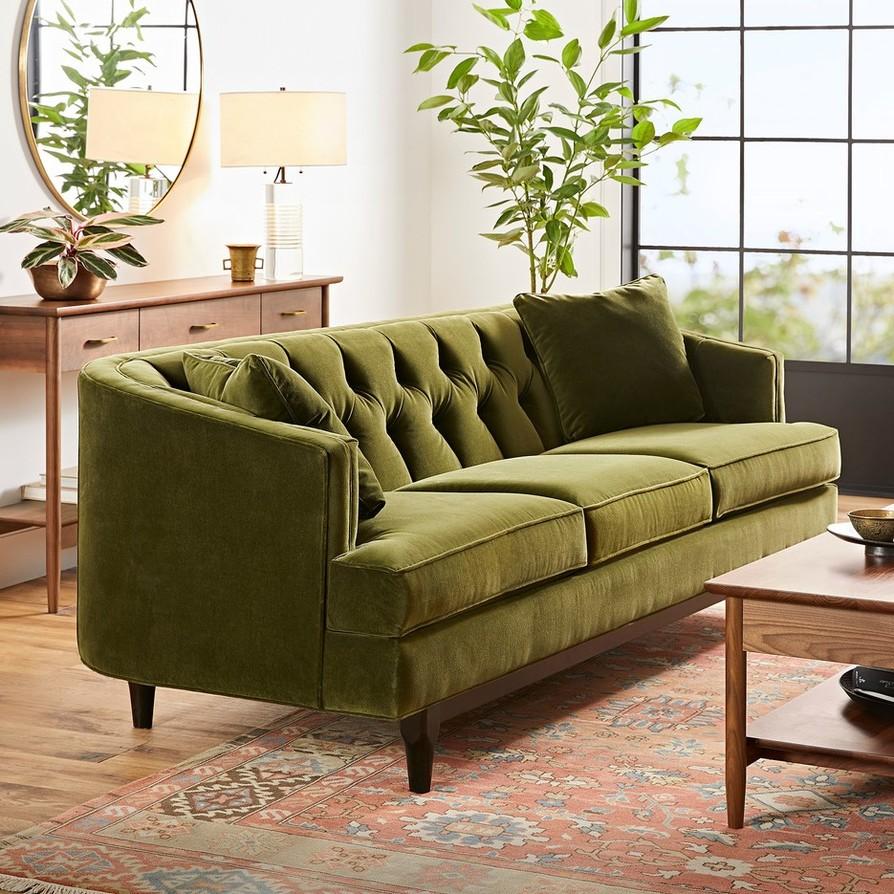 Sqr monrowe living room sofa upholstery furniture