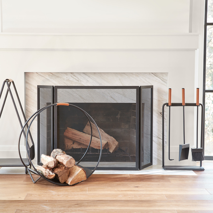 Hearth fireplace