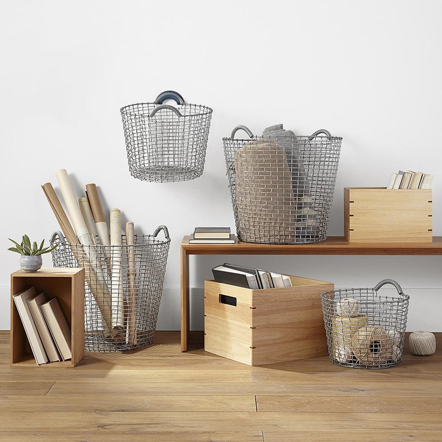 Storage bins baskets