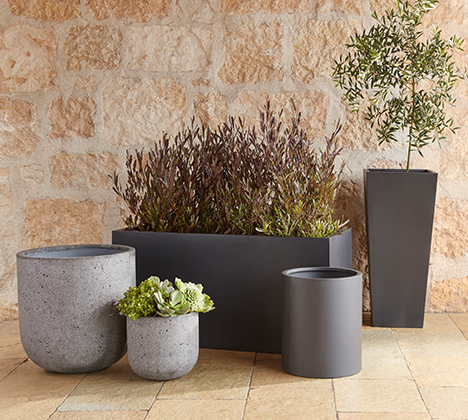Update spotlight tile planters modern fiberstone